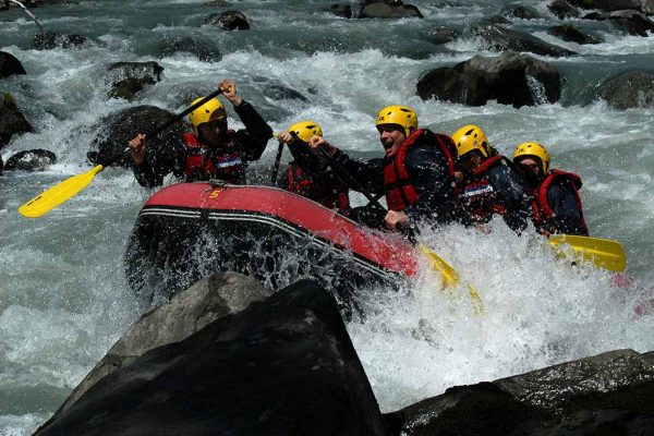 rafting genève