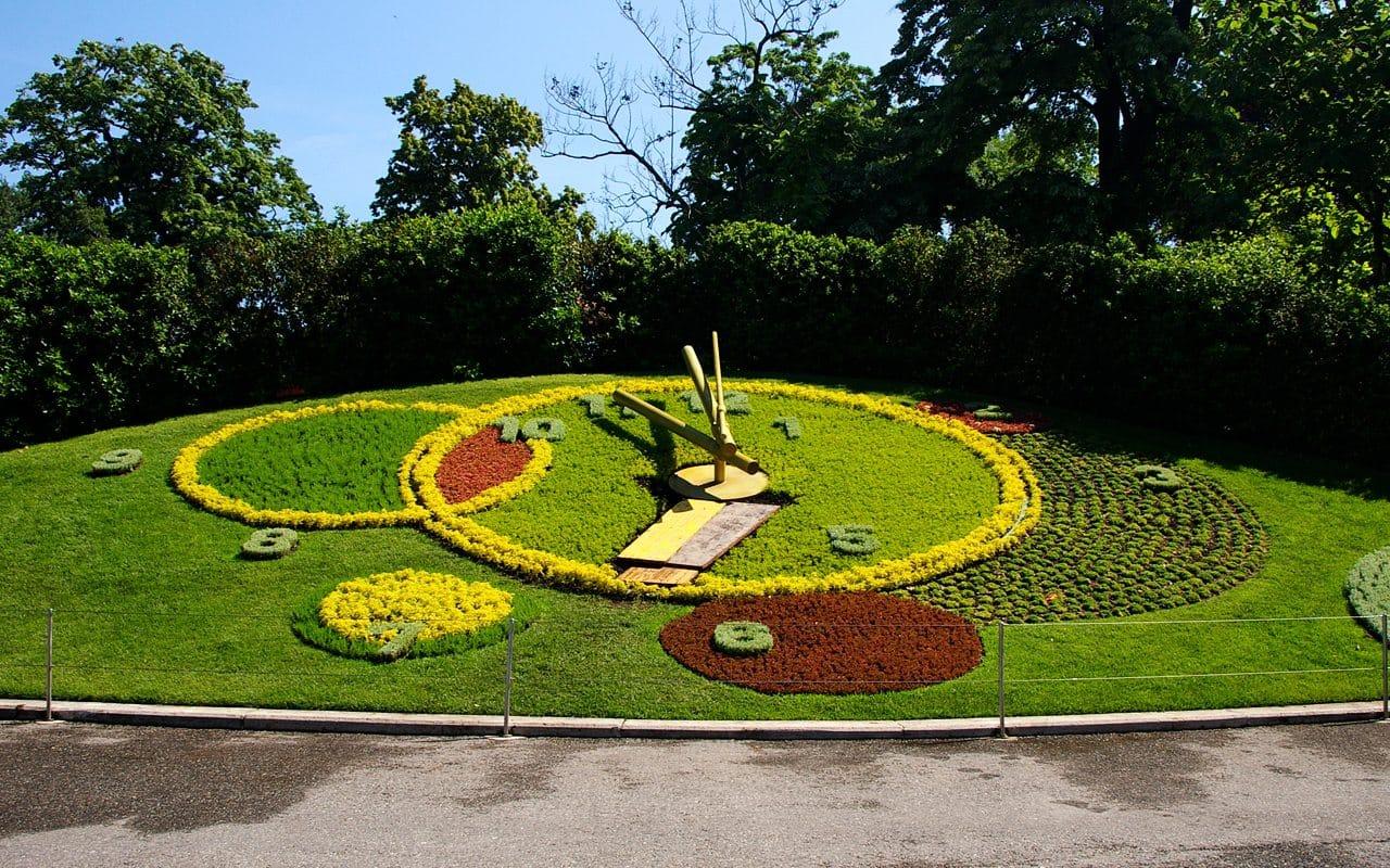 l horloge fleurie jardin anglais geneve switzerland1 takamaka gen ve. Black Bedroom Furniture Sets. Home Design Ideas
