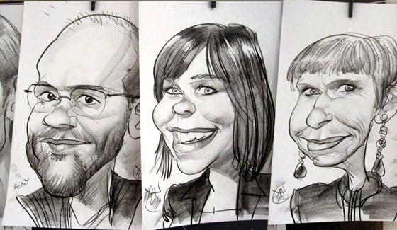 caricatures genève